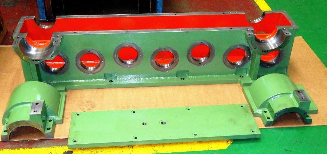 Fabricación caja para reductor