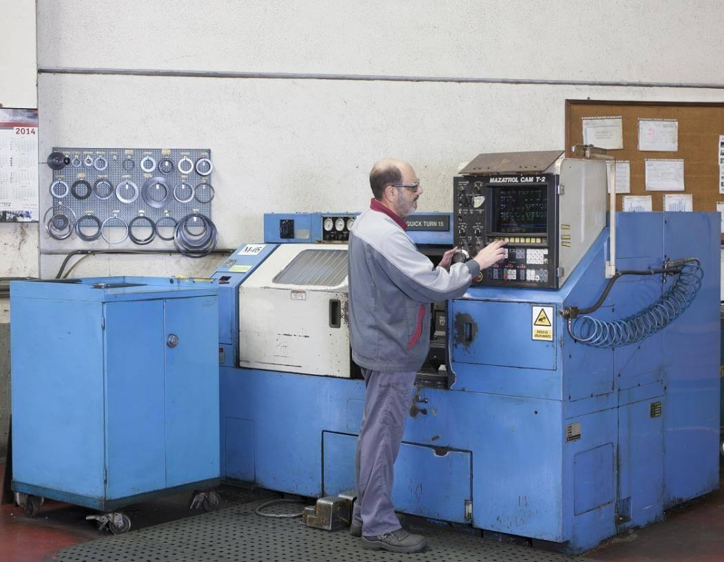 Torno CNC MAZAK QT-15
