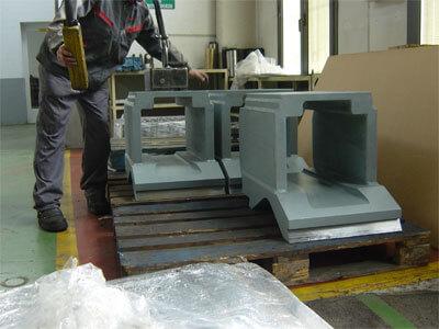 carcasa para siderurgia