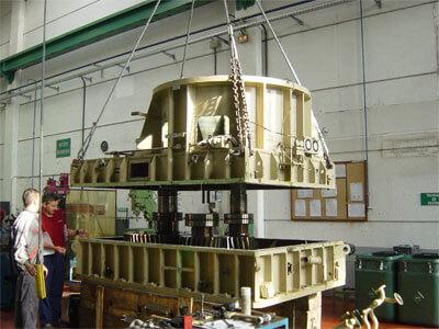 reductor turbina aerogenerador