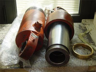 reparaciones  industriales, cilindro