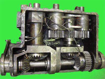 reparacion reductor industrial