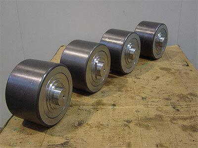 Apartado Fabricación y rectificado de rodillos