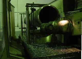 Mecanizado tubo para sector eólico